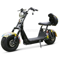 MB-18 1500W Electric Scooter Vehicle 18 Inch Two Wheel Adult Instead Of Walking City Electric Motorcycle 50-60km Mileage