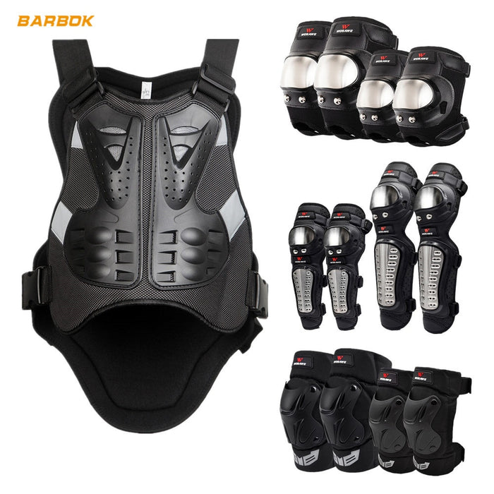WOSAWE Motocycles Armor Jackets Men Sleeveless Moto Windbreaker Back Support Protector