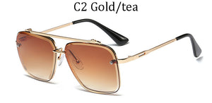AOZE 2020 Fashion Classic Five style gradient coolunisex sunglasses brand Design men's