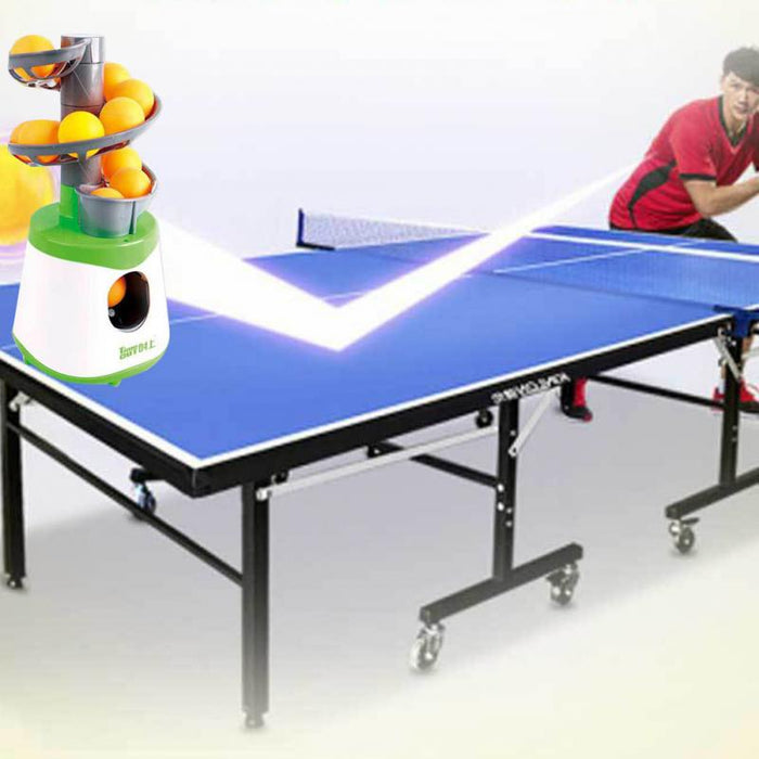 Mini Table Tennis Robot Parent-child Student Sender Pitching Serve Machine Trainer Gift