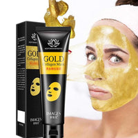 Gold Collagen Peel Off Mask Face Tear Off Bamboo Charcoal Blackhead Remover Whitening Firming Anti Wrinkle Facel Mask Care