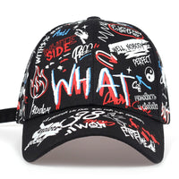 2019 new Fashion Graffiti printing Baseball Cap Outdoor cotton Shade Hat men women Summer Caps adjustable Leisure hats