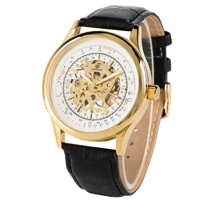 Relogio Mens Watches Top Brand Luxury Skeleton Mechanical Watch Tourbillon Stainless Steel Case Casual Mechanical Watch Mens