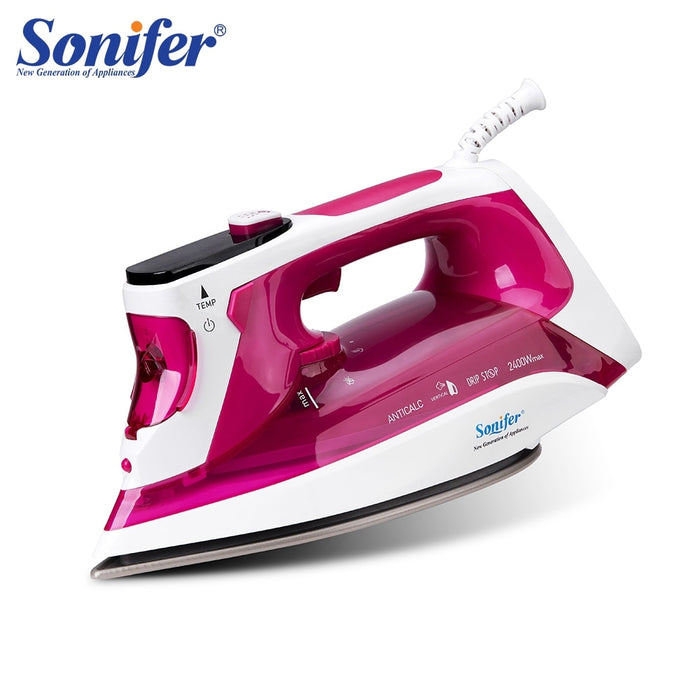 2400W Electric Steam Irons Digital LED Display For Clothes Home Laundry Appliances