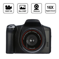 "1080P HD Camcorder Video Camera 16X Digital Zoom Handheld Professional Anti-shake Camcorders With 2.4"" LCD Screen DV Recorder"