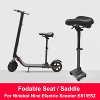 Original ES1/ES2 Electric Scooter Seat Foldable Saddle Scooter Chair Electric Scooter Seat Height Adjustable Seat for ES1/ES2