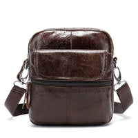Retro Satchel Leather Man Casual Crossbody Bags For Men Bag Genuine Leather Messenger Bag Leather Bolso Hombre Top Layer Leather