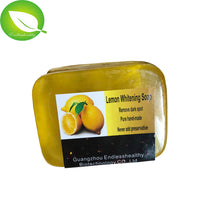 100g Top quality best skin whitening soap powderful strong whitening fast whitening Lemon whitening soap
