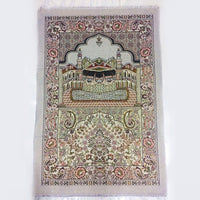 The Mosque Muslim Prayer Blanket Tassel Worship Rugs 65x110cm Prayer Mat Cotton Carpet for Arab Islam Ceremony Blanket