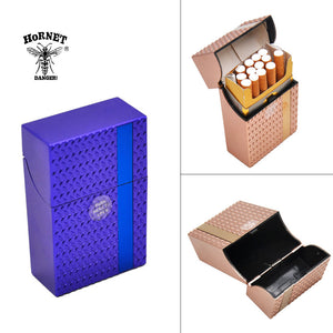 HORNET Fashion Man Woman Plastic Cigarette Case Cover 87MM*55MM*22MM For Regular Cigarettes Case Holder Hard Tobacco Box