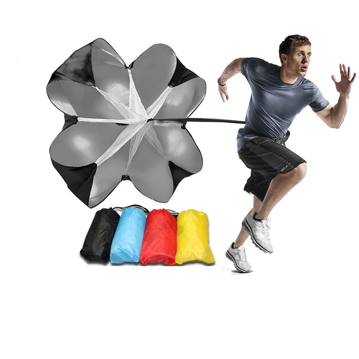 Adjustable Speed Training Resistance Parachute Running Umbrella Outdoor Exercise Tool