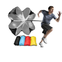 Adjustable Speed Training Resistance Parachute Running Umbrella Outdoor Exercise Tool Equipment Football Training Accessories