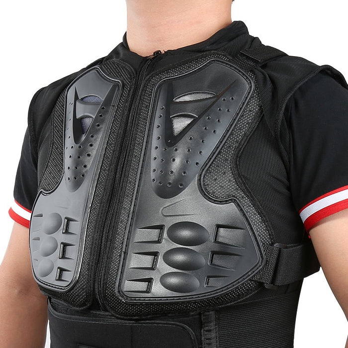 Sleeveless Motorcycle Armor Vest Motorcross RC Chest Protective Sport Gear Guard Motorcycle