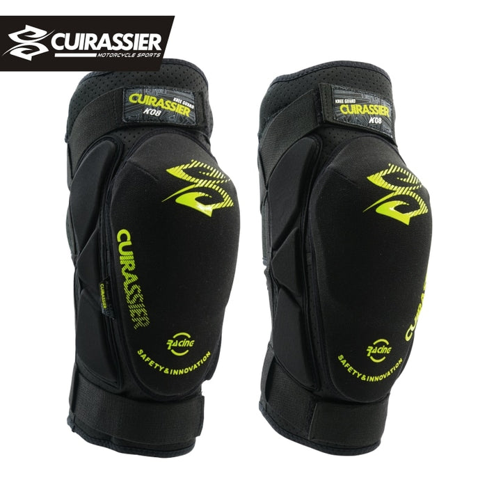 Cuirassier K08 Motorcycle Knee Pads Motocross MX Knee Protector Shin Guards Protective