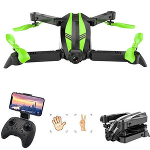Wide Angle RC Helicopter Gesture Take Photo rc Quadrocopter WIFI FPV Foldable Mini Drone Dron with Camera HD birthday gift