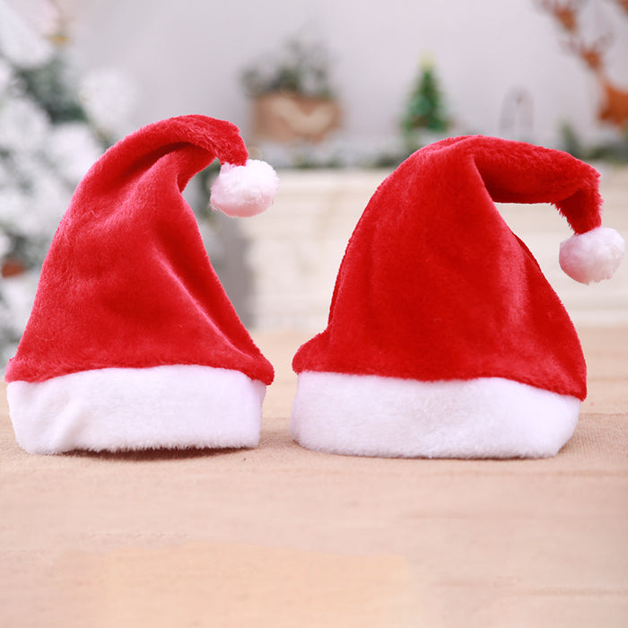 Christmas Ornaments Decoration Christmas red long Hats Santa Hats Children
