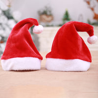 Christmas Ornaments Decoration Christmas red long Hats Santa Hats Children Women Men Boys Girls Cap For Christmas Party Props