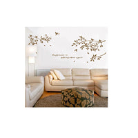 Removable Wall Decal Sticker Branch Birds Art Decals Mural DIY Wallpaper for Room Decoration 60X75cm Home Decoration Accessories