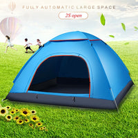2-3 Person Portable Outdoor Foldable Tent Waterproof Automatic Instant Open Camping