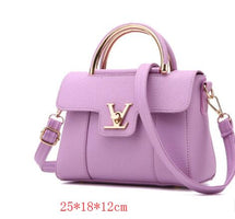MICKY KEN New Style Women's Bags PU Leather Messenger Bag One-Shoulder Diagonal
