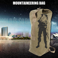 Men's Travel Bag Army Bucket Bags Multifunctional Backpack Military Canvas Backpacks Large Duffle Men Shoulder Bags 2019 Hot