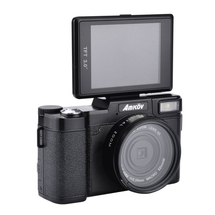 24Mega Mini Digital Camera pixe Original CDR2l 1080P HD  4Times with TFT Display Beauty Self timer