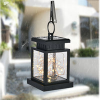 2019 New Arrivals Waterproof Outdoor Solar  Hanging Light LED Yard Patio Garden Lamp Decors Best Selling Dropshipping