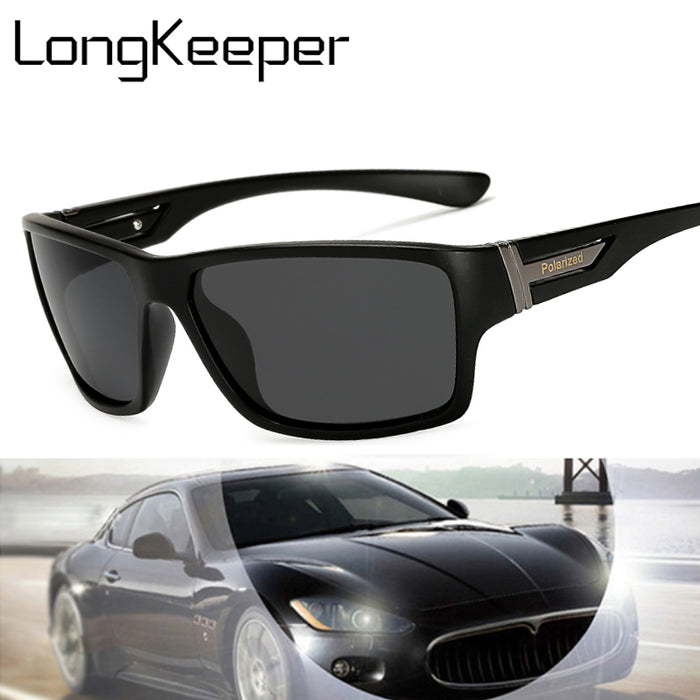 Long Keeper Vintage Polarized Sunglasses Men Brand 2020 New Driving Goggles