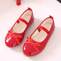 Black Red Children Shoes Girls Shoes Princess Shoes Fashion Bowtie Patent Leather Autumn Kids Single Shoes Girls Sandals CSH207