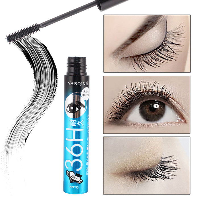 Waterproof Black Mascara Eyes Thick Curly Long Lasting 3d Lash Extention Black Lengthening