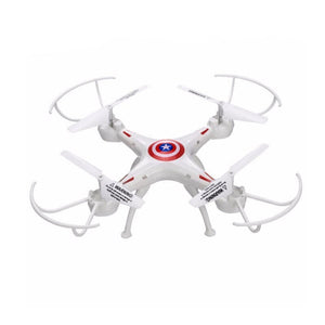 White 2.4GHz 6 Channel RC Drone 6-Axis Remote Control Helicopter Quadcopter