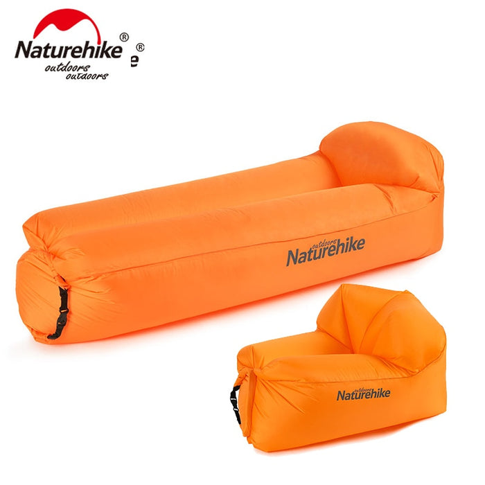 Naturehike Outdoor Portable Waterproof Inflatable Air Sofa Camping Beach Sofa Foldable