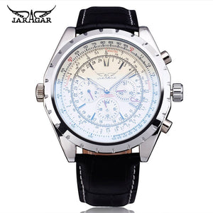 JARAGAR Top Luxury Brand Men Watch Mens Fashion Mechanical Watches Man Casual Business