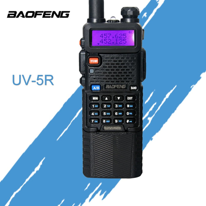 Baofeng UV 5R Walkie Talkie 3800mAh Battery Version Dual Band Radio UV-5R Two Way Radio Portable Walkie Talkie