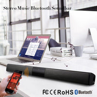 20W Column Wireless Bluetooth Speaker TV Soundbar Music Stereo Home Theater Portable Sound Bar Support 3.5mm TF For TV PC