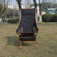 2020 Outdoor Camping Chair Oxford Cloth Portable Folding Camping Chair Seat for Fishing Festival Picnic BBQ Beach Stool With Bag