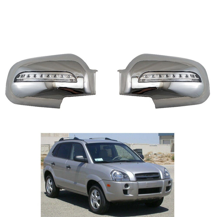 Car accessories 2PCS for Hyundai Tucson  ABS Chrome plated  door mirror covers