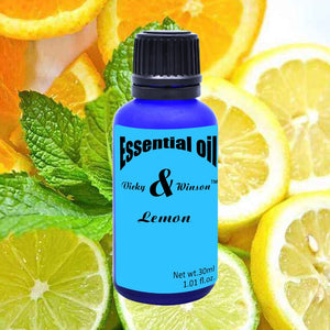 Vicky&winson Lemon aromatherapy essential oils 30ml pure essential oils fade stretch marks dull skin facial care deodorization