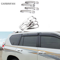 For Toyota Land Cruiser Prado 150 LC150 FJ150 2010 2012-2015 ABS Chrome Door Handle Covers car Accessories Stickers Car Styling