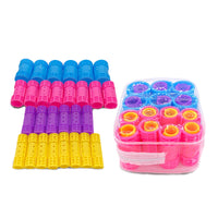 28pcs/set 4 Sizes Snap on Hair Rollers Plastic Hair Curlers Steam Curling Bar with Self-Clips Fluffy Hair Maker Hairdresser 1363