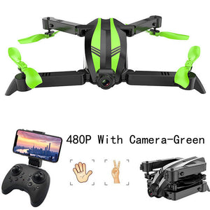 Wide Angle RC Helicopter Gesture Take Photo rc Quadrocopter WIFI FPV Foldable Mini Drone