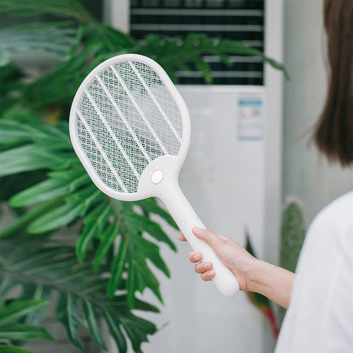 Xiaomi Jordan&judy Electric Mosquito Swatter USB Charging Mosquito Dispeller Three-layer
