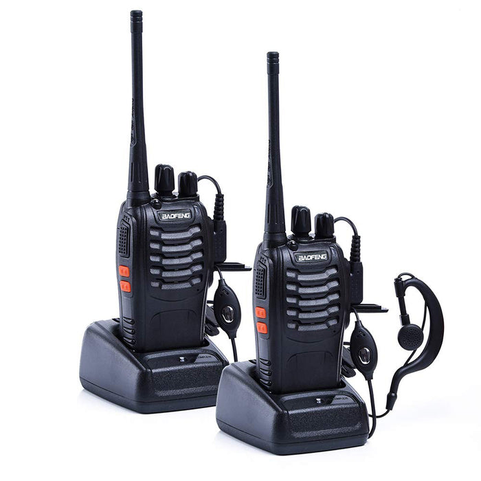 1PC /2PCS Baofeng bf-888s Walkie Talkie Radio Station