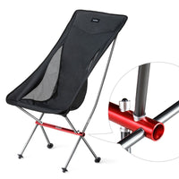 Naturehike Portable Ultralight Camping Chair Outdoor Folding Fishing Chair Alluminum alloy Beach Picnic Chair NH18Y060-Z