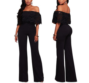 Summer New Black Bodycon Backless Stripe Jumpsuits Women Sexy Party Clubwear Jumpsuits Casual  Overalls Jumpsuit Plus Size