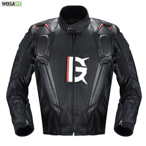 Motorcycle Leather Jacket Armor Oxford Cloth 600D Racing Jacket Body Protection Equipment Moto Motocross Off-road Clothing