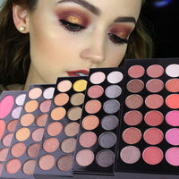 144 Colors professional eyeshadow Palette makeupset Makeupbox matte shimmer eyeshadow lipgloss blush Multifunction Cosmetic Tool