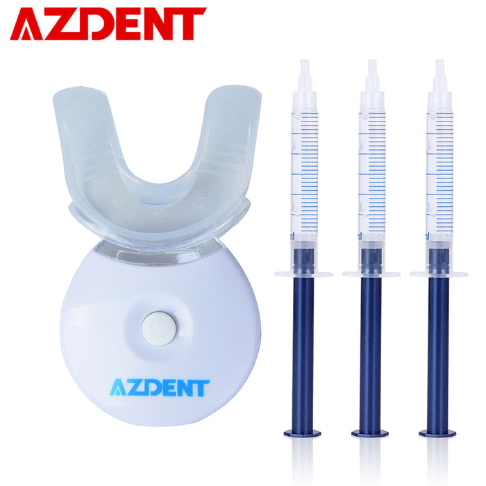 3x gels with 1x mini LED Lamp Teeth Whitening Light Lamp Kit Home Teeth Tooth Whitener Kits