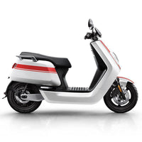 Hcgwork Xiao Niu N1s Pro Top Brand Lithium Battery Electric Motorcycle Scooter Motorbike Ebike 120km Mileage Free Shipping (white-red)