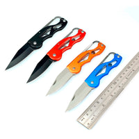 Multifunction Portable Pocket Survival Rescue Folding Knife Camping Mini Peeler Keychain Tactical Hunting Outdoor Tools
